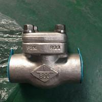 Cheap forged steel swing check valve npt end for sale