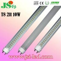 Cheap 10W 2FT T8 LED Fluorescent Tube Bulbs with CE RoHS for sale