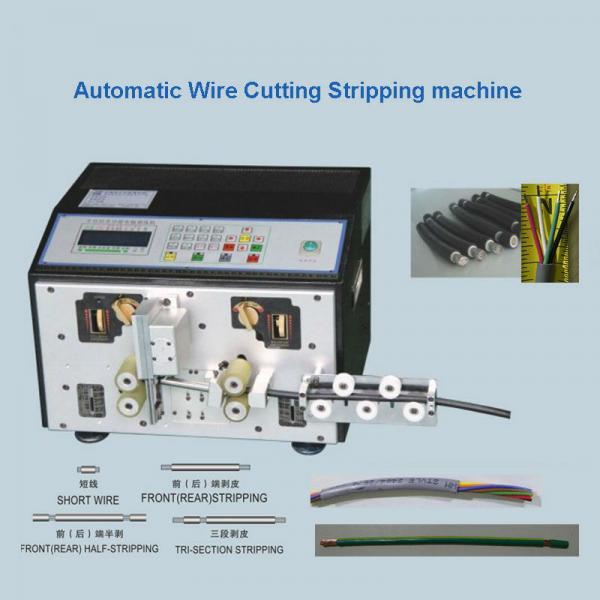Quality Multi - Core Cable Cutting Stripping Machine  Wire Cut Strip Crimp Machine wholesale