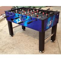 Cheap Multicolor 5 Feet Soccer Game Table Comfortable Wooden Foosball Table For Kicker Match for sale