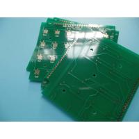 Cheap Electrolytic Gold Keypad Hard Gold Double Sided PCB 2 Layer CNC Routing wholesale