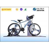 Cheap 3D / 4D / 5D / 7D / 9D Virtual Exercise Bike , Indoor Cycling Simulator With 9D VR Cinema for sale