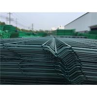 Cheap 3D Curved Bending Metal Mesh Fencing Broad Vision With 2 / 3 / 4 Folds for sale