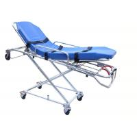 Cheap FDA / CE / ISO Automatic Loading Ambulance Stretcher High Strength Aluminum Alloy for sale