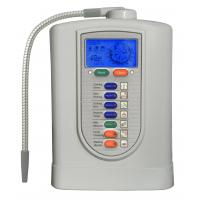 Cheap LCD Display 3 Plates Portable Alkaine Water Ionizer Machine PH Value 6 - 10 150W for sale