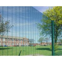 Cheap Hot Dip Galvanized Outdoor Security Fencing12,7 X 76,2mm Various Gauge RHS Posts for sale