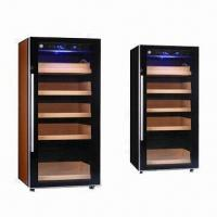 China Electronic Cigar Cabinet Humidor with Humidifier and Temperature Adjustable System on sale