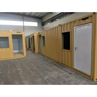 China 20ft Sandwich Panel Premade Container Homes / Movable Container House ISO9001 on sale