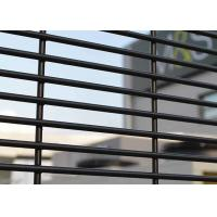 China 358 Prison Double Loop Wire Security Fence , 358 Mesh Fencing on sale