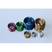 Quality M4 M8 M10 M12 etc fastener ISO screw threaded insert with different colors wholesale