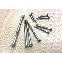 Cheap Black Oxide Full Body Stainless Steel Raised Head Countersunk Wood Screws DIN97 Metric for sale