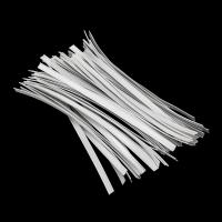 Cheap White Color Face Mask Materials Nose Wire Medical Flexible Wire Light Weight for sale