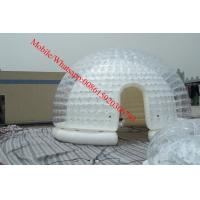 Cheap inflatable lawn tent inflatable dome tent  inflatable bubble camping tent for sale