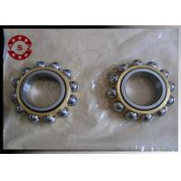 China Single / Double Row Angular Contact Bearing High Rotating Speed on sale