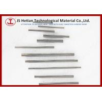6% Cobalt Cemented Carbide Rods / Tungsten Carbide Round Bar with 3500 MPa Strength