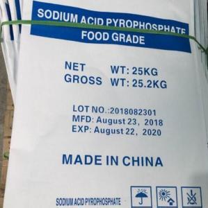 Cheap Food Garde 95% Min 237-004-9 Sapp Sodium Acid Pyrophosphate for sale