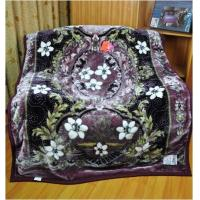 Cheap 100% Polyester Single Bed Blankets With Mixed Colours Sigle Printed for sale