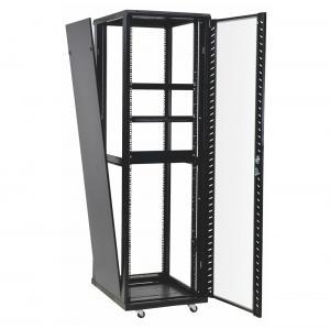 Cheap 42u 37u Perforated Door Network Equipment Rack Floor Standing Data Center Cabinet for sale