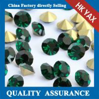 China glass chaton strass china factory price,strass glass chaton china color chart for accessory,jx0805 on sale