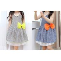 Cheap New arrival Flower cotton girls child clothes for sale