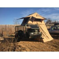 Cheap Water Resistant 4x4 Roof Top Tent Easy Operate With Side Awning CE Certificated for sale