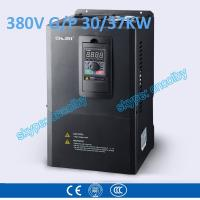 30kw/37kw motor pump 50Hz/60Hz AC drive CNC Variable-Frequency Drive VFD AC-DC-AC Low Voltage frequency converter