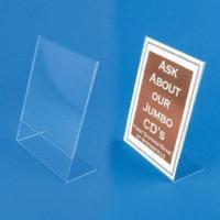 Cheap Clear Acrylic File Holder Stand, Customized Designs are Accepted for sale