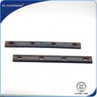 China High Strength Railway Fish Plate Cast Iron Material With GB11265-89 Standard on sale