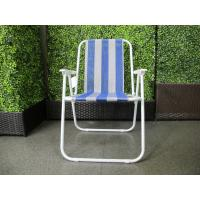 Cheap Textilene Fabric Spring Folding Picnic Chairs for sale
