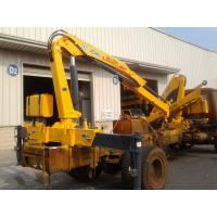 Buy cheap 3200kg 6.72 TM Lifting heavy duty crane / hydraulic boom crane Commercial from wholesalers