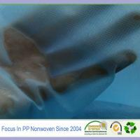Hydrophilic spunbond fabric material for making nonwoven wipes