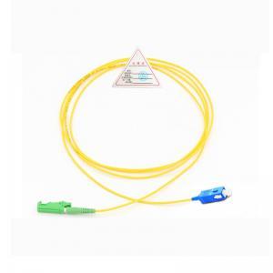 Cheap E2000-SC/APC Single Mode Simplex Fiber Patch Cord for sale