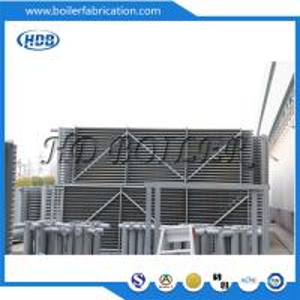 Horizontal Carbon Steel Pressure Vessel Economizer In Boiler For Power Station