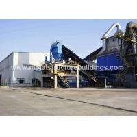 Construction Design Prefabricated Steel Warehouse With Metal Frame JIS SS400 Material