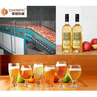 Cheap Energy Saving Fermentation Equipment Small Capacity Apple Pear Fruit Wine Production Line for sale