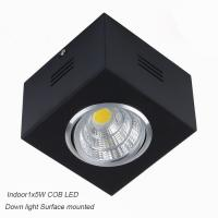 Cheap IP42 Surface mounted CreeCOB 5W Ceiling down light&LED Grille light for sale