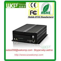 Cheap Multifunction WIFI GPS 3G vehicle mobile DVR 4 Channel HDD anti-vibration for sale