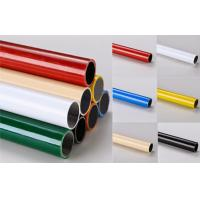 China Multi color  ESD Black  Lean Pipe PE Coated 0.8MM / 1.0MM / 1.2MM Thickness Pipe on sale