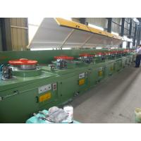 Cheap CO2 Gas Shielded Wire Drawing Equipment , Electrical Welding Electrode Making Machine LZ10--560 wholesale