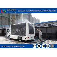 Buy cheap P5 Outdoor Truck Mounted Led Display Video Wall , 7000cd Advertising Mobile Led Signs from wholesalers