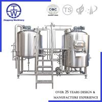 Cheap Turnkey Project Micro Beer Equipment Beer Fermentation Equipment For Brewery System for sale