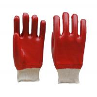 Buy cheap Fully Coated PVC Gloves, Smooth Finish, Knit Wrist from wholesalers