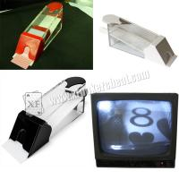 Buy cheap New Technology Plastic Poker Card Shoe To See The First Coming Card from Wholesalers