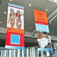 Cheap Shopping Mall Advertising Banner, Double Effect, No Fade for sale