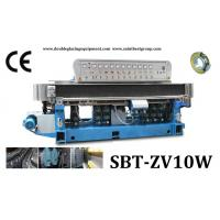 Cheap 10 Spindles Glass straight-line edging machine,Glass straight-line edging machine,Glass Edging Machine wholesale