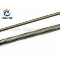 Buy cheap M10 DIN 975 DIN976 Stainless Steel Fully Threaded Rod 1000mm Length from wholesalers