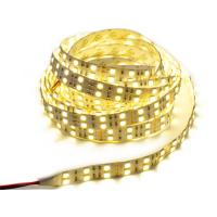 Cheap Warm White Flexible SMD 5050 LED Strip Light Double Row 2X60LEDs Non Waterproof for sale
