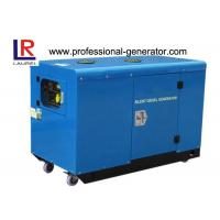 Buy cheap 12.5kw Power Silent Type Diesel Generator 220V / 380V , with electric star Twin-cylinder Engine from wholesalers