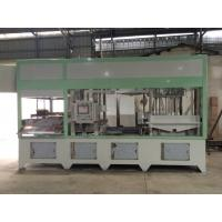 Cheap Fully Automatic Paper Pulp Moulding Machine High Precision With Hot Pressing System for sale