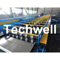 Cheap Galvanized Steel Floor Deck Roll Forming Machine For Floor Decking Sheets for sale